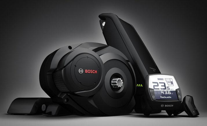 Die e-Bike Antriebe von Bosch sind innovativ und leistungsstark
