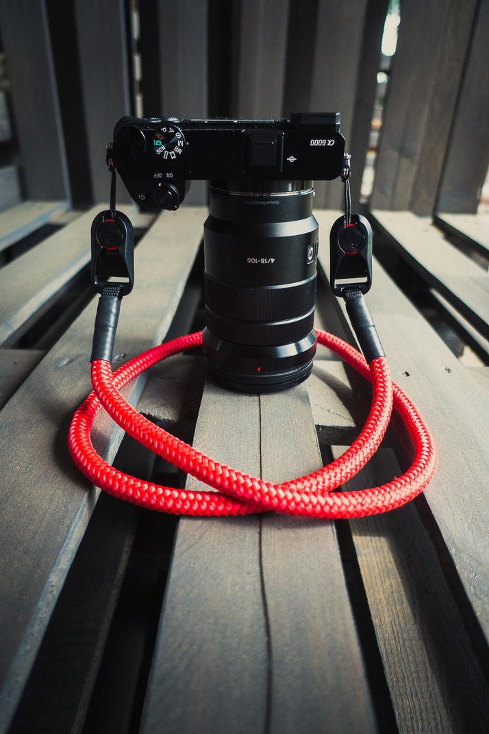 Camerastrap, Kameragurt, Seilstyles, Wunderformat