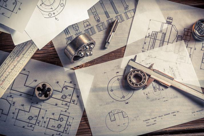 Werkstattzeichnungen |Stücklisten | Explosionszeichnungen | Pläne | Montageanleitungen | Dokumentation | Lastenhefte | Datenblätter