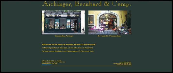 BERNHARD AICHINGER & COMPANY