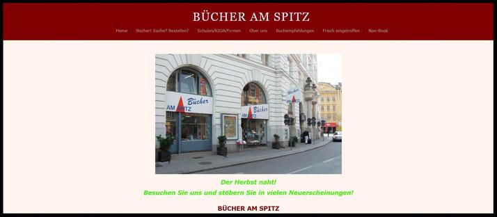 BÜCHER AM SPITZ