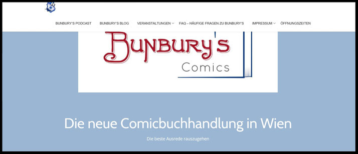 BUNBURY's Comics