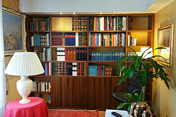 faux books - Conti Borbone - Lawyer study faux books