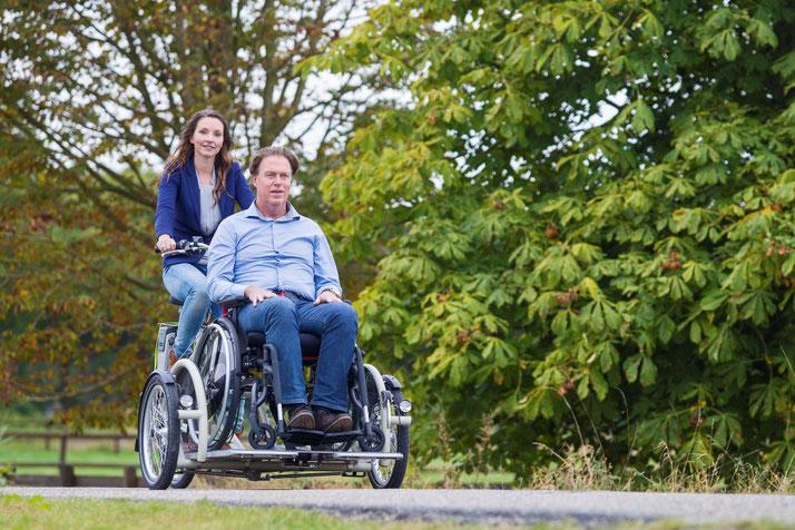 Van Raam Velo Plus 2 - Das Dreirad mit eigenem Rollstuhl