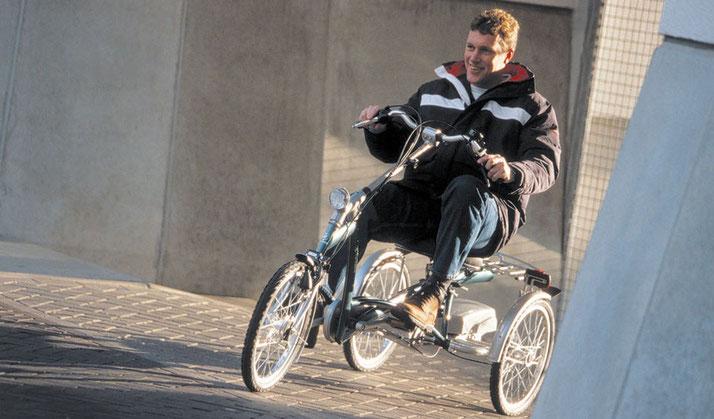 e-Dreirad für Behinderte