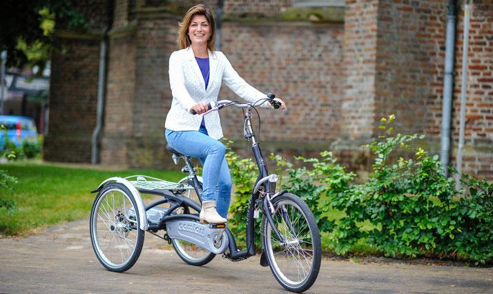 Dreiräder für Contergangeschädigte vom Experten in der Schweiz