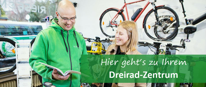 Experten für Dreiräder und Elektrodreiräder für Erwachsene