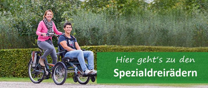 Spezial-Dreirad für Erwachsene