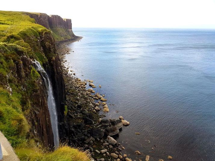 Wasserfall auf der Isle of Skye