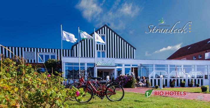 Biohotels Nordsee, das Biohotel Strandeck auf Langeoog