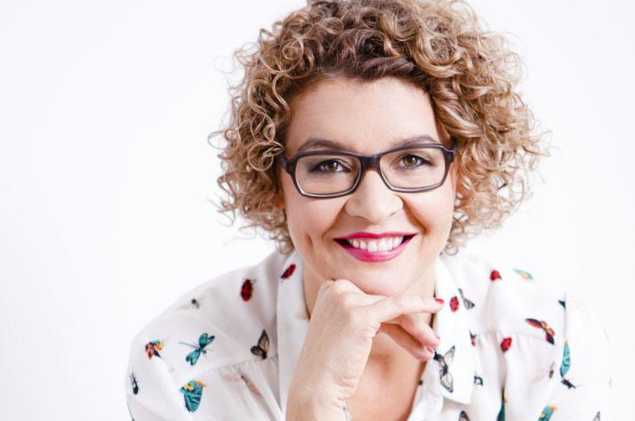 Strahlendes Lächeln, Business Portrait, Frau, Kath Visual