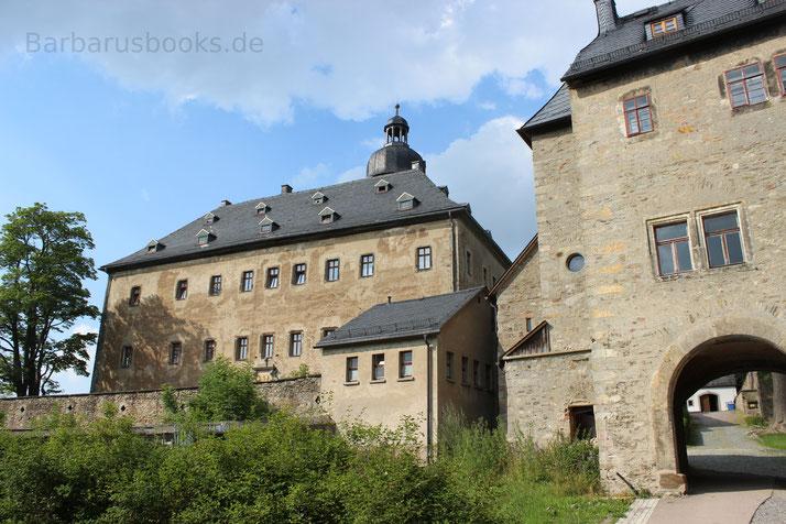 Schloss Frauenstein in der Sächsischen Schweiz