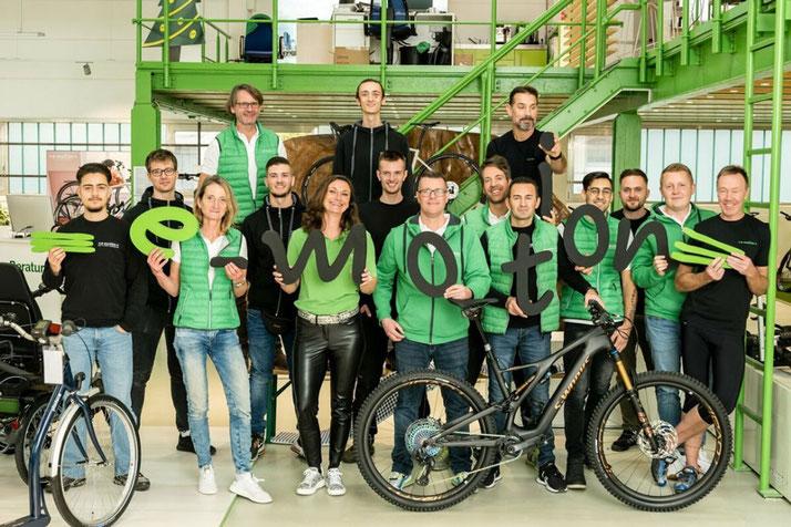 Das Team des Dreirad-Zentrums Frankfurt