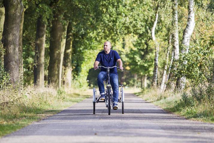 Van Raam EasyGo Scooter-Dreirad Elektro-Dreirad in Freiburg Süd Beratung, Probefahrt und kaufen