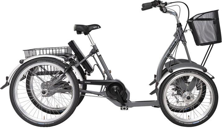 Pfau-Tec Monza Dreirad mit Bafang Mittelmotor