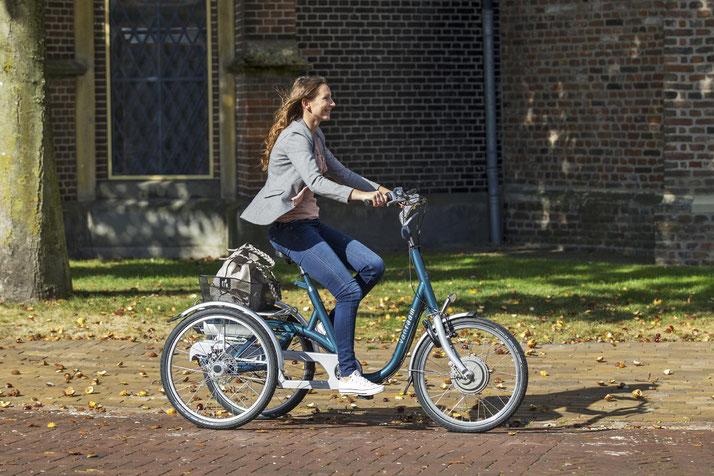 Dreiräder für Erwachsene im e-motion Dreirad-Zentrum Berlin probefahren und kaufen