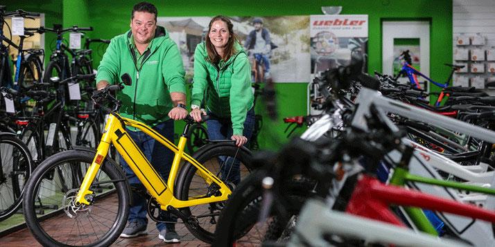 Das Dreirad-Experten Team vom Dreirad-Zentrum Lübeck