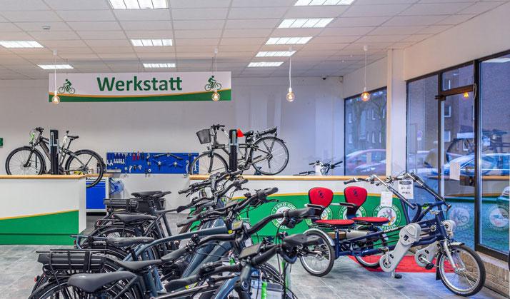 Dreiräder vom Experten im Dreirad-Zentrum Moers