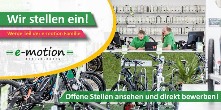 e-Bike Jobs - offene Stellen