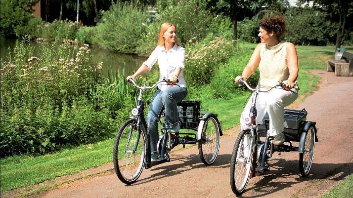Dreiräder und Elektro-Dreiräder finanzieren in Ihrem Dreirad-Zentrum Hiltrup