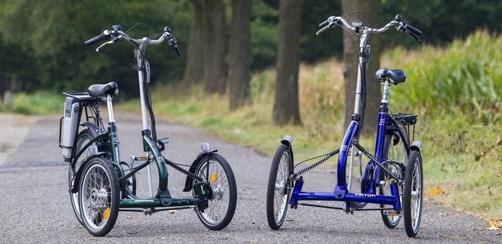 e-Bike Dreiräder und Elektro-Dreiräder bei Ihrem Experten