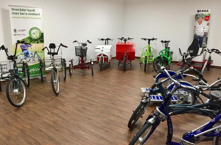 kostenlose Probefahrt und kompetente Beratung im Dreirad Zentrum Bochum