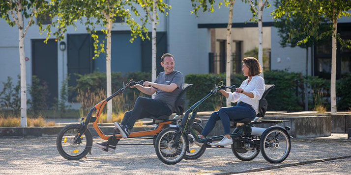 Dreiräder und Elektro-Dreiräder finanzieren in Ihrem Dreirad-Zentrum Karlsruhe