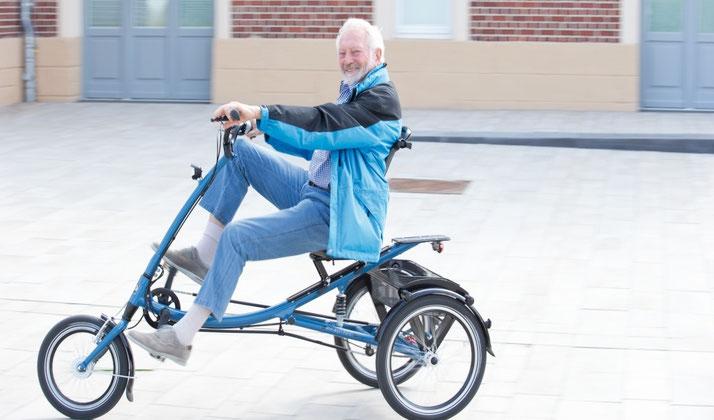 Ein Dreirad für Erwachsene