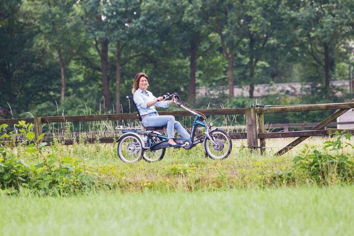 Dreirad und Elektro Dreirad Versicherung