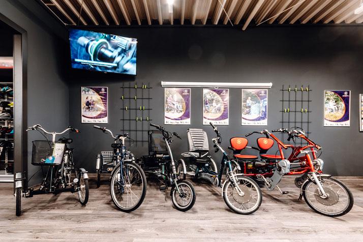 Dreiräder für Erwachsene kaufen und probefahren im Dreirad-Zentrum Göppingen