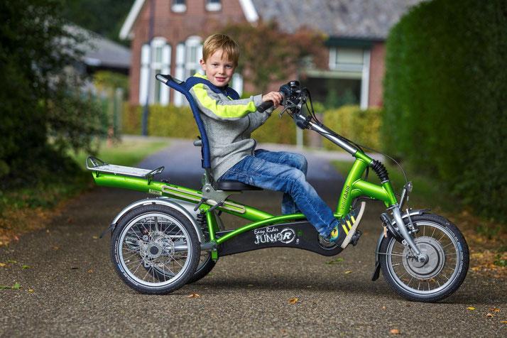 Van Raam Easy Rider Junoir Sessel-Dreirad für Kinder in Harz
