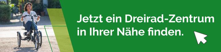 Van Raam oder Pfau-Tec Dreiräder und Elektro-Dreiräder kaufen, Beratung und Probefahrten in Oberhausen