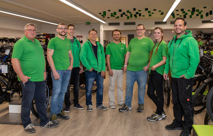 Team Dreirad Zentrum Münster