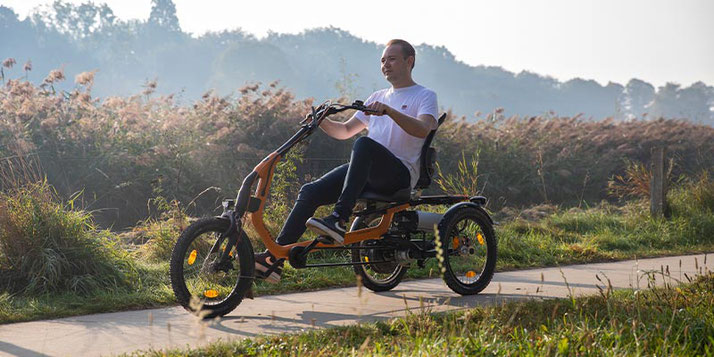 Van Raam Easy Rider Sessel-Dreirad Elektro-Dreirad im Dreirad-Zentrum Fuchstal