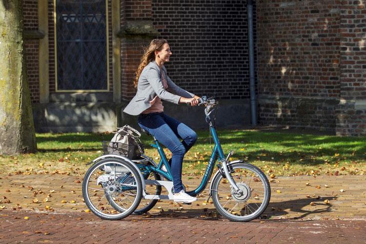 Van Raam Maxi Dreirad Elektro-Dreirad Beratung, Probefahrt und kaufen in Düsseldorf