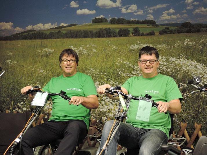 Das Experten-Team vom Dreirad-Zentrum Göppingen