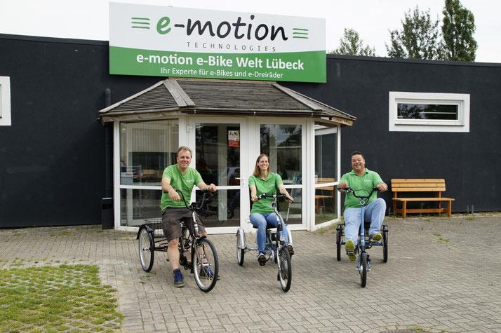 kostenlose Dreirad Probefahrten und kompetente Elektrodreirad Beratung vom Experten in Lübeck