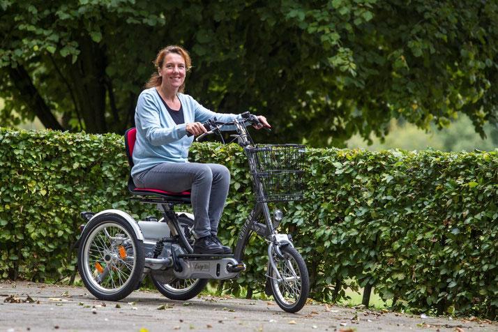 Van Raam EasyGo Scooter-Dreirad Elektro-Dreirad in Düsseldorf Beratung, Probefahrt und kaufen