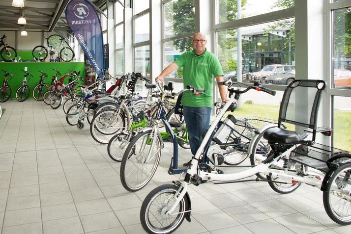 Dreirad Zentrum für Erwachsene