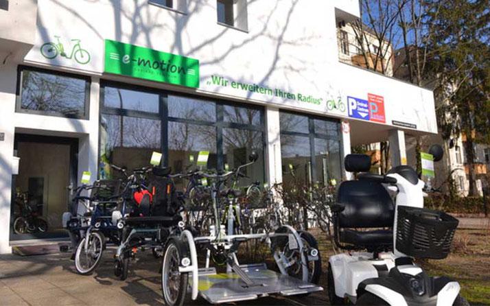 Team Dreirad-Zentrum Berlin Steglitz