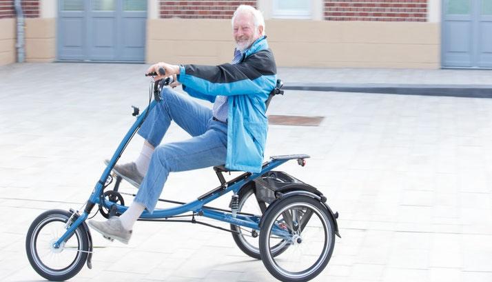 Elektrodreirad für Senioren
