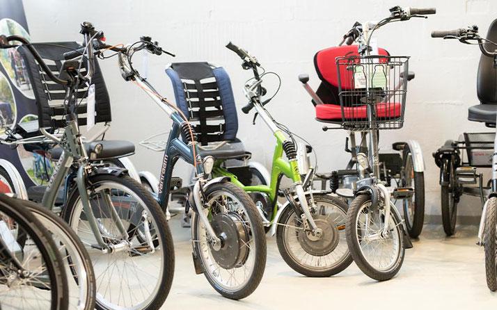 Dreiräder vom Experten im Dreirad-Zentrum Bad Kreuznach