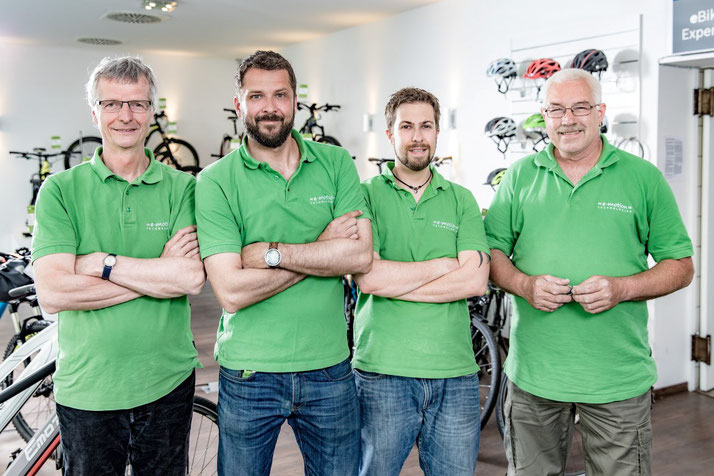 Team Dreirad-Zentrum Berlin Mitte