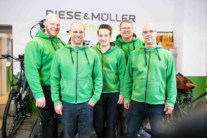 Das Team des Dreirad-Zentrums Köln