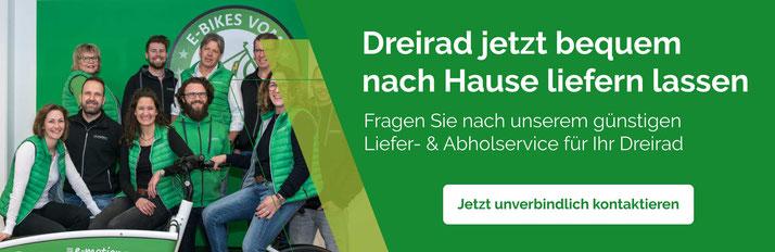Banner Abhol- und Bringservice