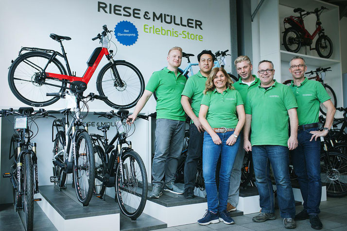 Das Team des Dreirad Zentrums Düsseldorf