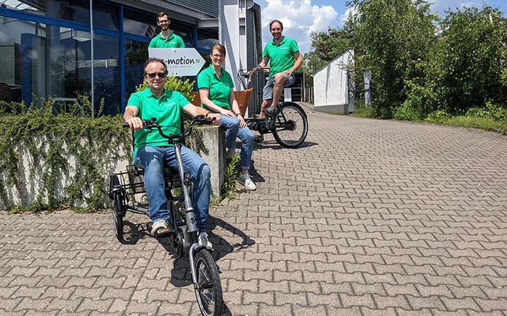 Online-Beratungstermin buchen im Dreirad-Zentrum Kaiserslautern