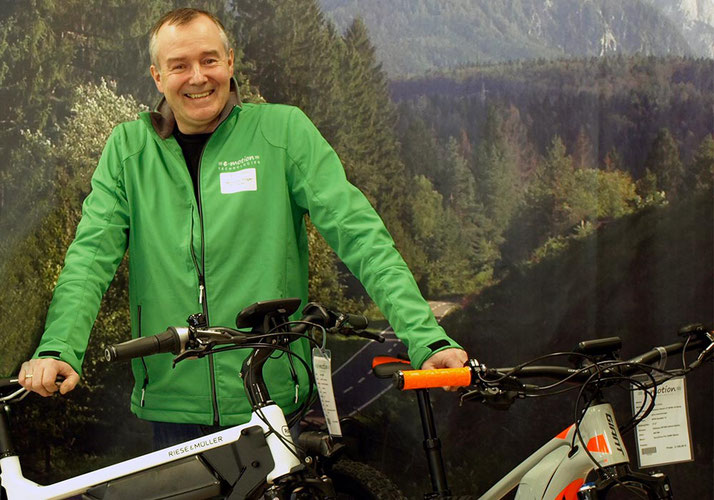 Das Team des Dreirad-Zentrums Oberhausen