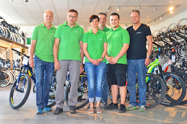 Das Team des Dreirad-Zentrums Würzburg