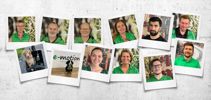 Das Team des Dreirad-Zentrums Erding